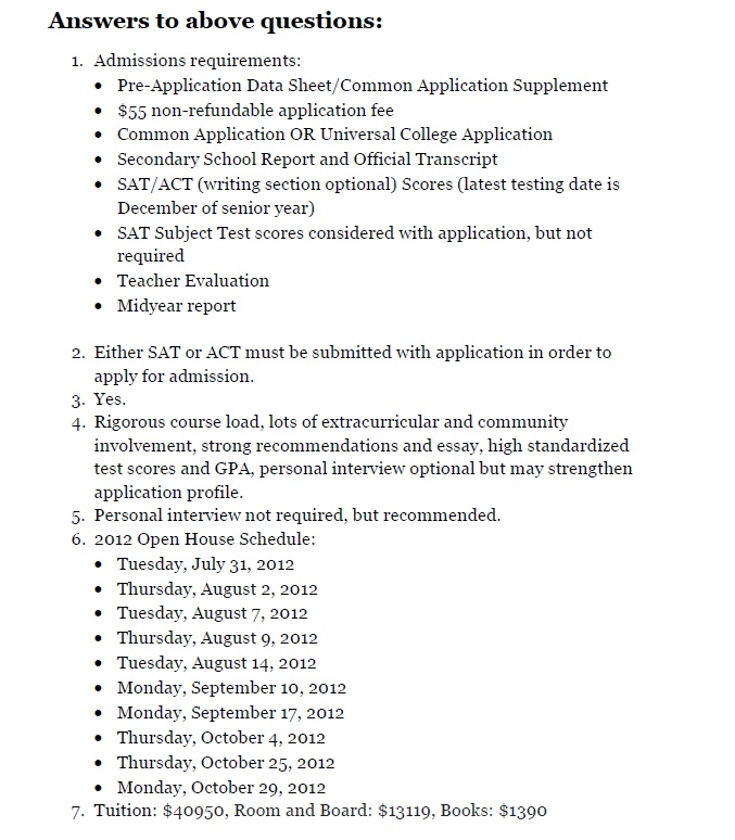 fsu application essay 2014 Students who are applying to schools not on this list should check each college's websites for their essay prompts some schools have them and some do not to make completely sure, call and check with the admissions office of each college or university amherst college boston college florida state.